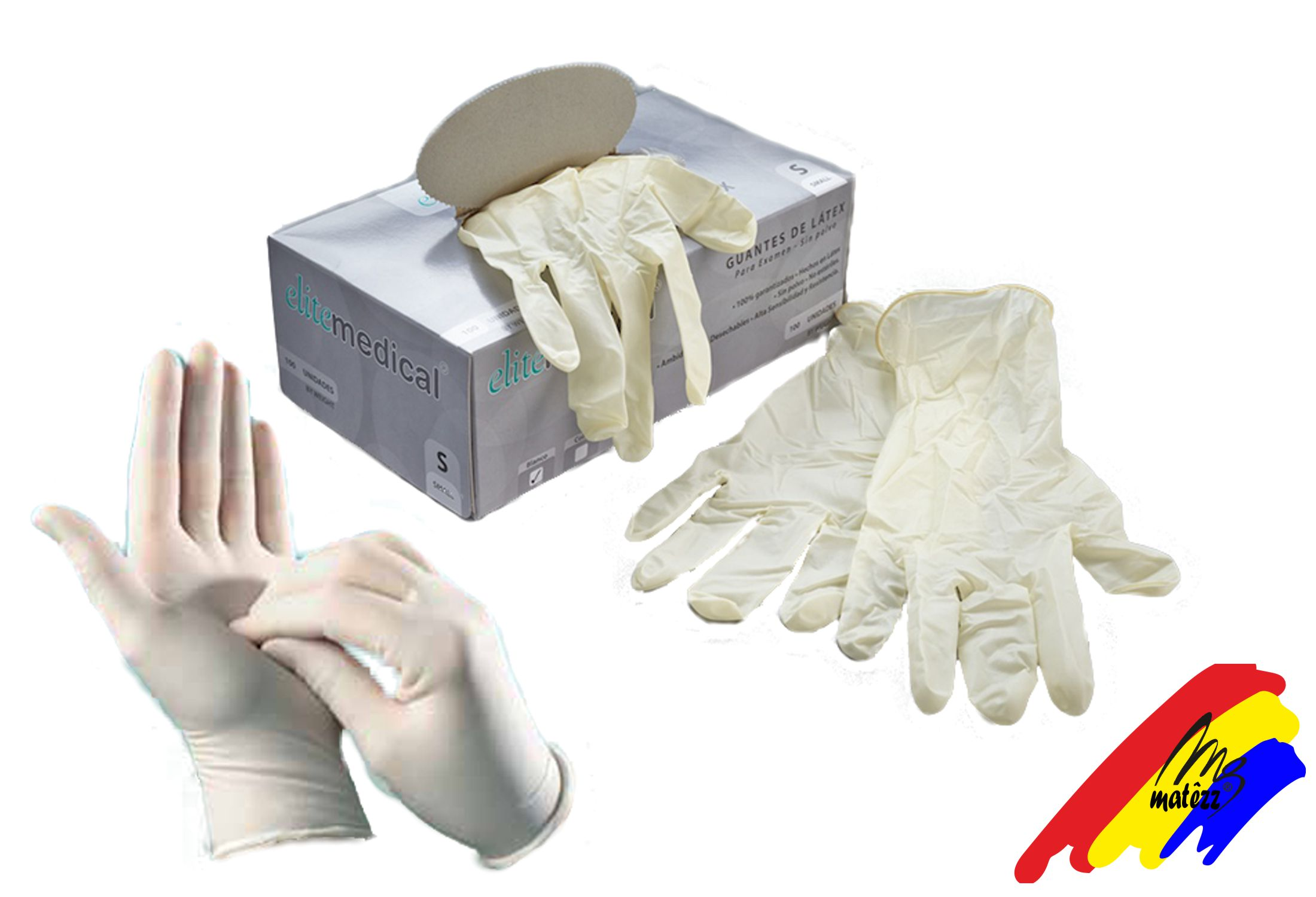 Guante Latex Descartable x100